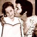 Lisa Marie with Elvis Presley