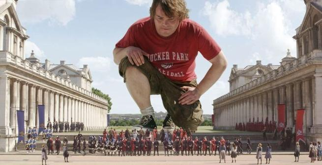 Gulliver's Travels, Jack Black