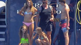 Sylvester Stallone s rodinou