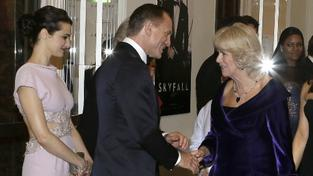 Rachel Weisz, Daniel Craig, Camilla Parker Bowles