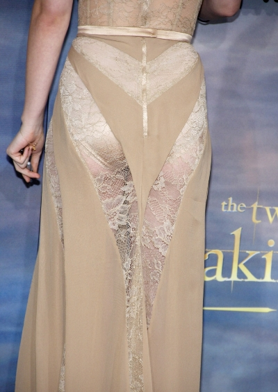Kristen Stewart na premiéře Twilightu