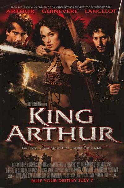 Plakát k filmu Král Artuš