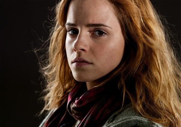 Emma jako Hermiona