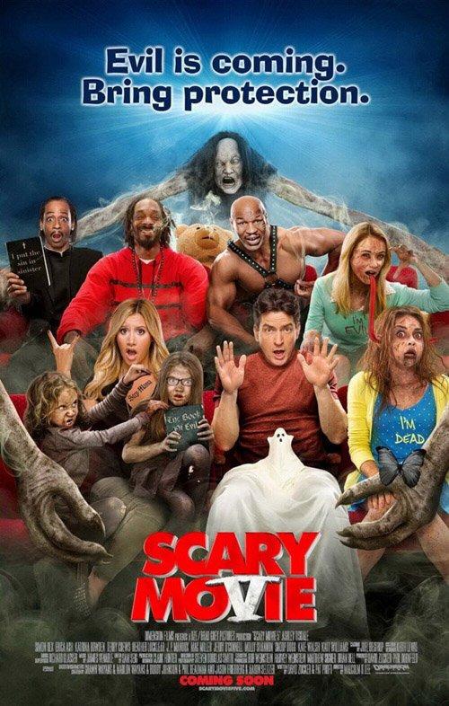 Plakát scary movie