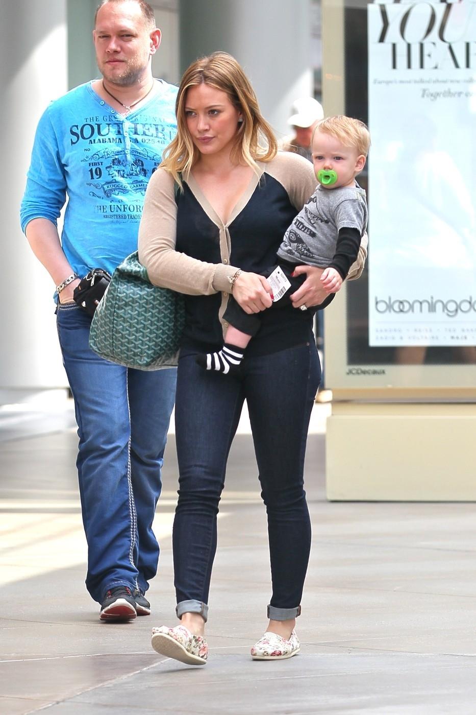 Hilary Duff se synem