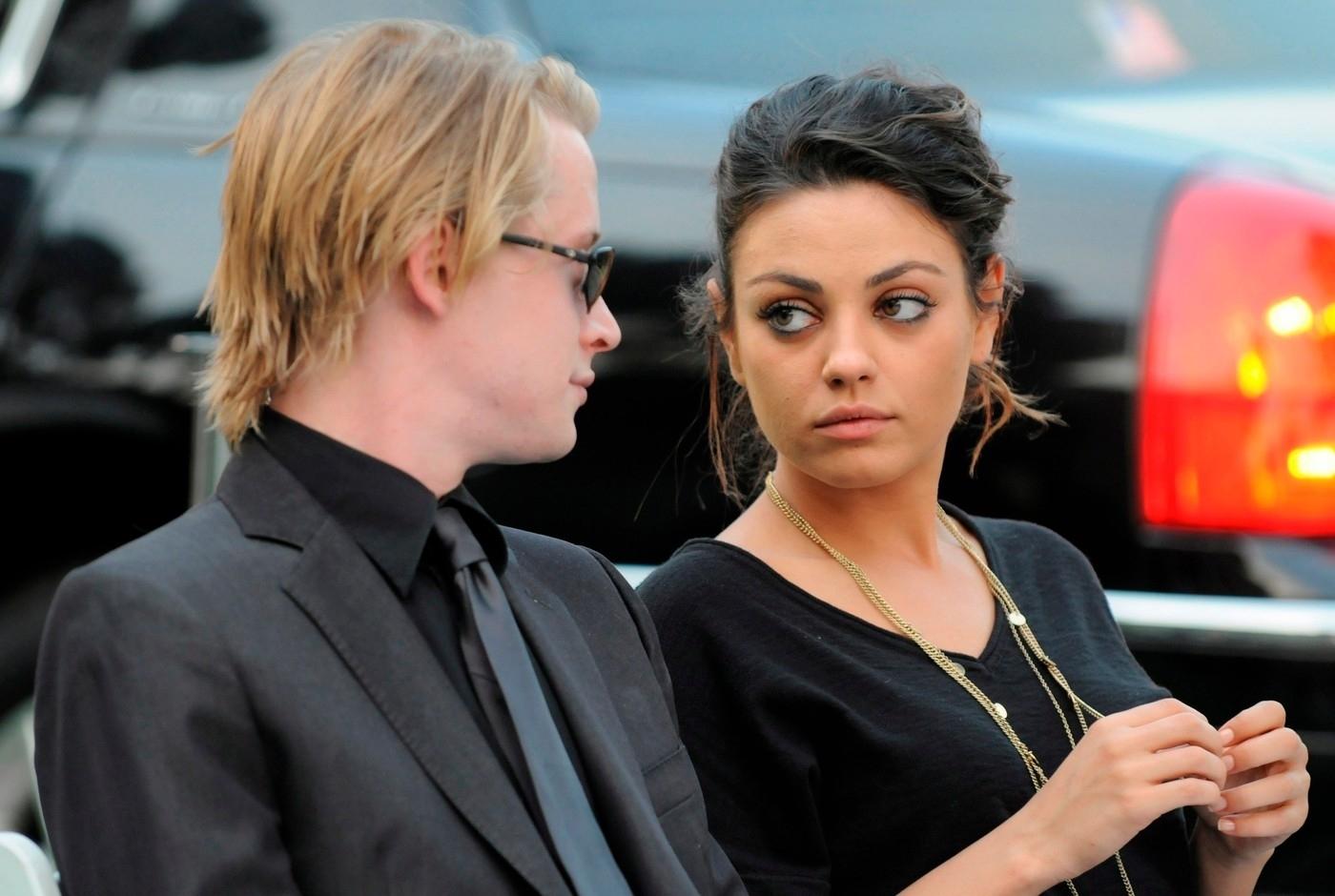 Macaulay Culkin a Mila Kunis