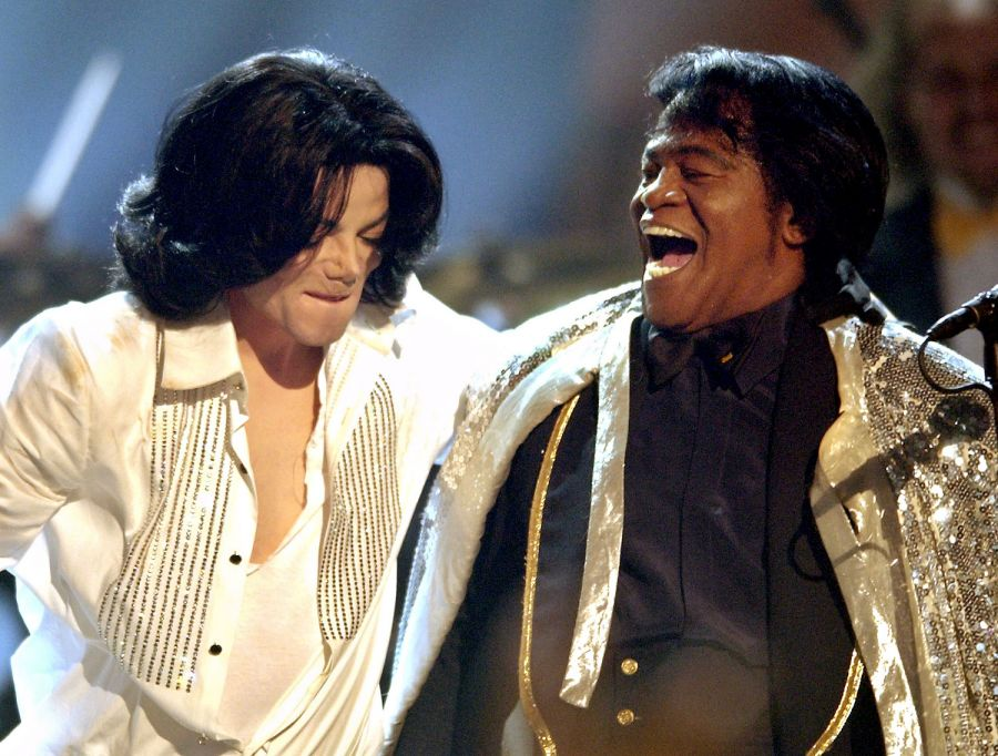 Michael Jackson a James Brown