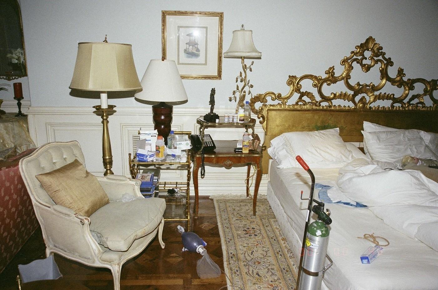 ložnice Michaela Jacksona