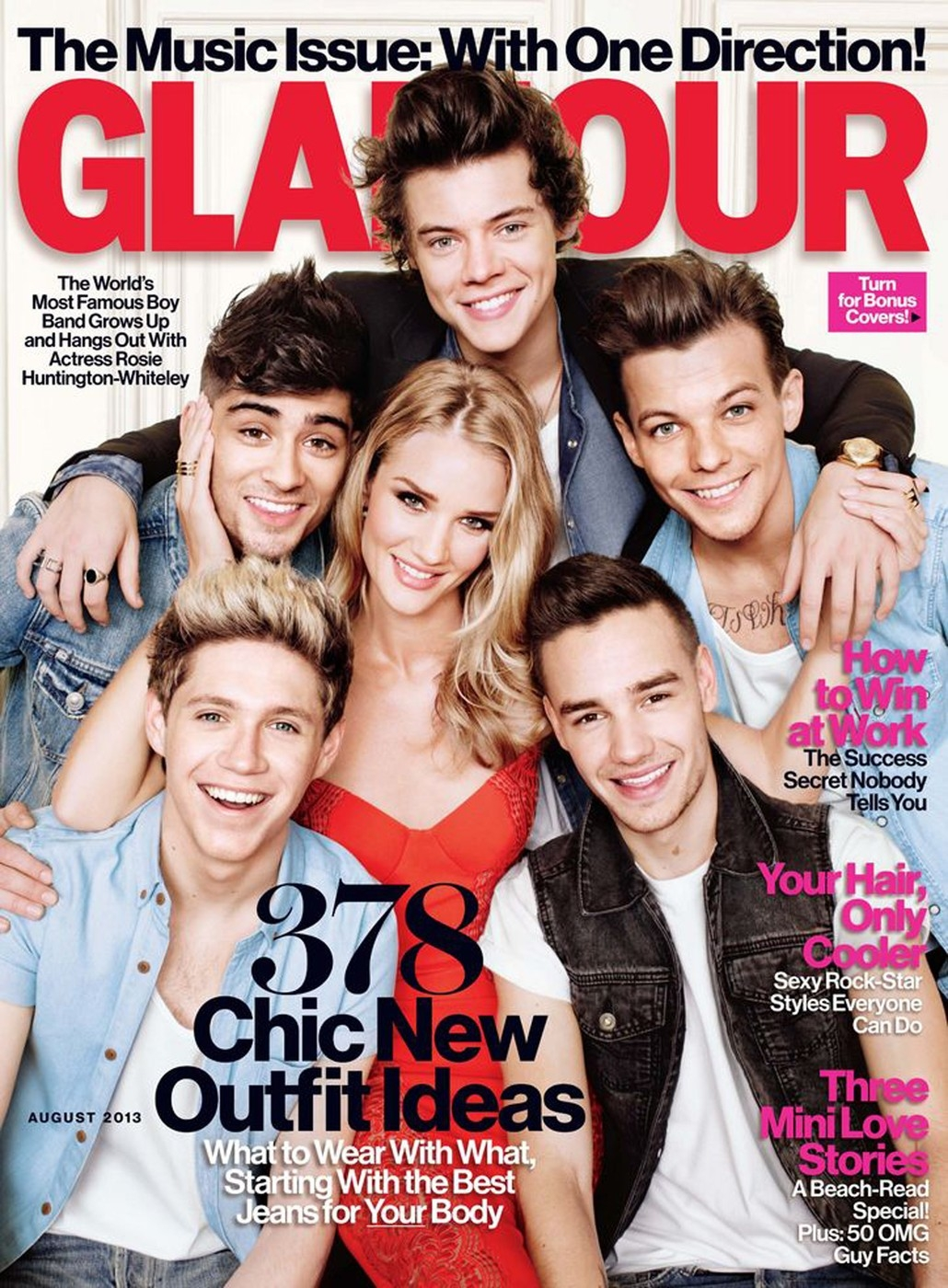 One Direction a Rosie Huntington Whiteley