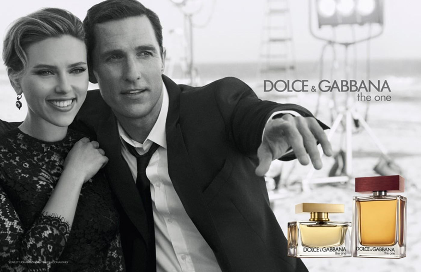 Scarlett Johansson a Matthew McConaughey