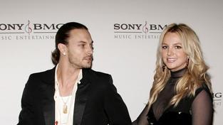 Kevin Federline a Britney Spears