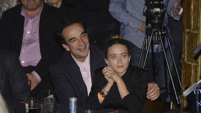 Sarkozy a Olsen