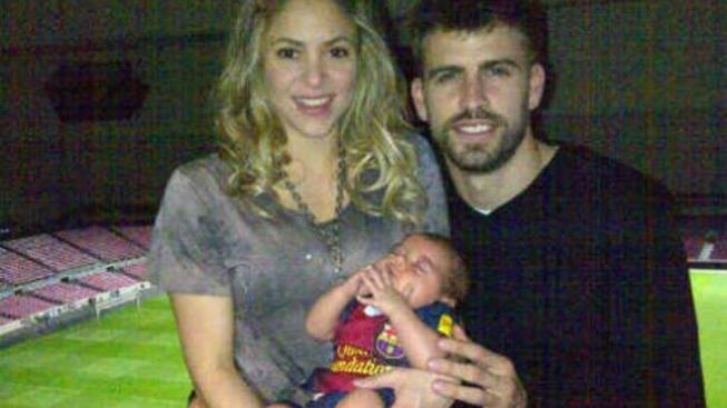 Shakira a Gerard a Milan