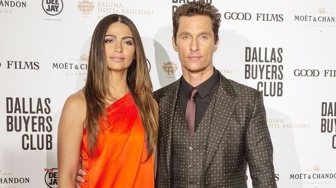 Matthew McConaughey s manželkou