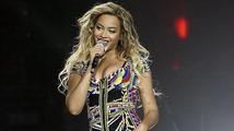 Beyoncé se předvedla v trikotu z korálků a  botách na jehlovém podpatku