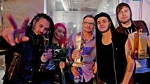 VIDEO: Žebřík 2013 Bacardi music awards očima Tomáše Kluse, Miro Žbirky či Mandrage