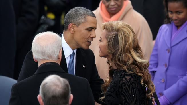 Beyoncé a Barack Obama