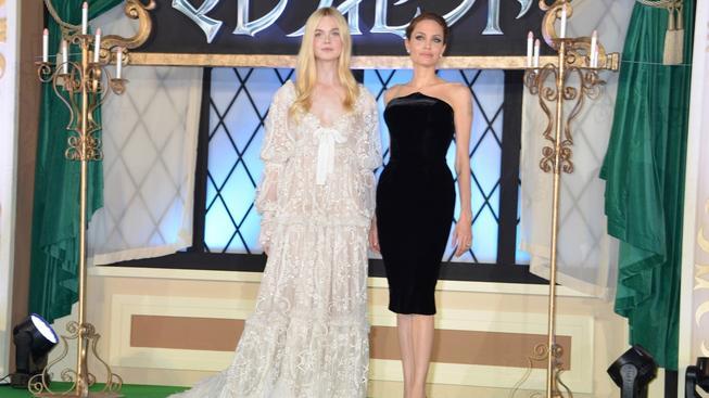 Angelina Jolie a Elle Fanning