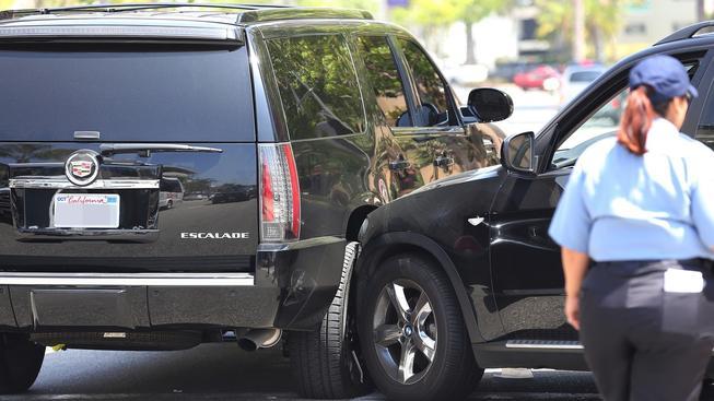 Justin Bieber autonehoda