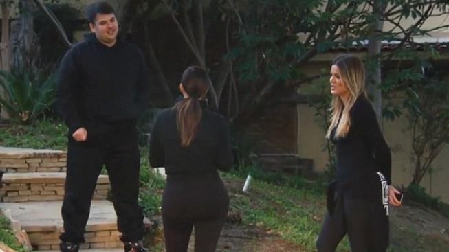 Kim Kardashian se sourozenci