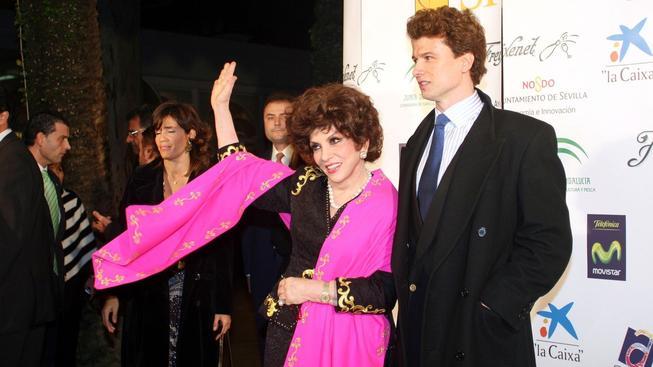 Gina Lollobrigida a Javier