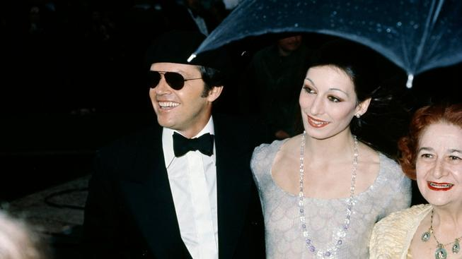 Anjelica Huston a Jack Nicholson