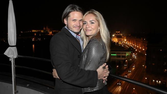 Taťána Kuchařová a Ondřej Brzobohatý