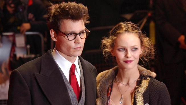 Johnny Depp a Vanessa Paradis