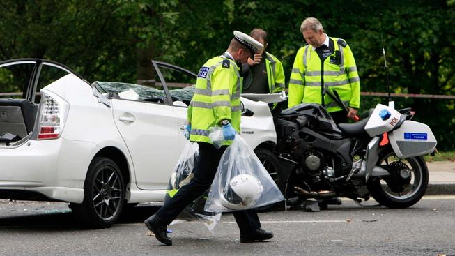 Princ Harry - autonehoda