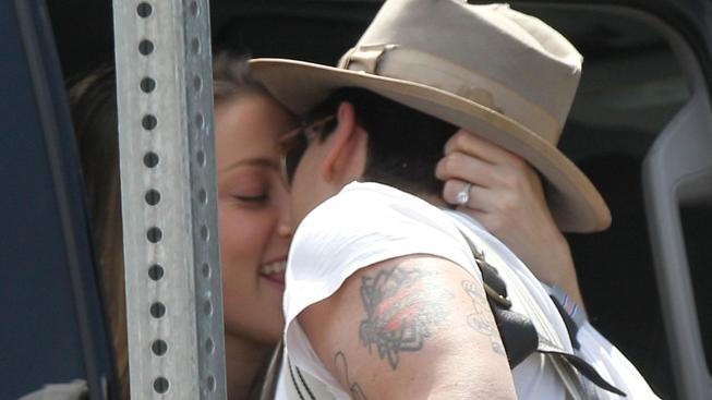 Johnny Depp a Amber Head