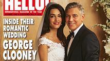 Prohlédněte si první svatební fotografie George Clooneyho a Amal Alamuddin
