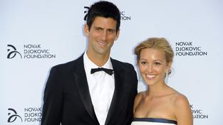 Novak Djokovič a Jelena