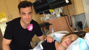Robbie Williams slaví: Je z něj dvojnásobný otec