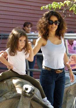 Salma Hayek s dcerou
