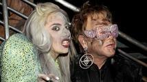 """Lady Gaga: """"Elton John mě zachránil před drogami"""""""