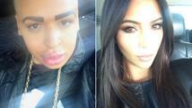 Hrůza: Tohle je dvojník Kim Kardashian
