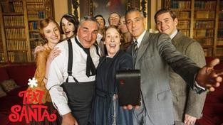 Selfie roku? George Clooney navštívil opatství Downton