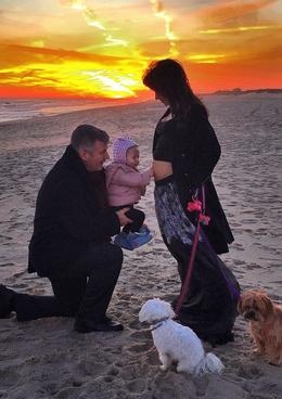 Alec Baldwin s rodinou