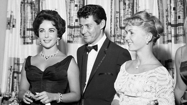 Eddie Fisher, Elizabeth Taylor a Debbie Reynolds