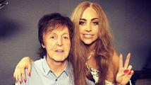Paul McCartney natáčí s Lady Gaga