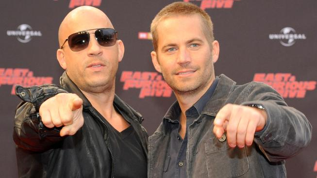 Paul Walker a Vin Diesel