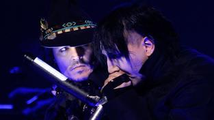 Johnny Depp opět vystoupil s Marilynem Mansonem