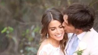 Nikki Reed zveřejnila romantické svatební video