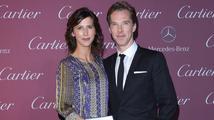 Benedict Cumberbatch a Sophie Hunter se stali rodiči
