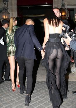 Gigi Hadid, Olivier Rousteing a Kendall Jenner 2