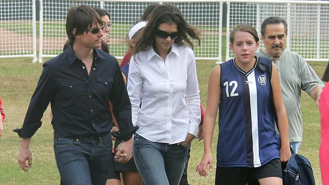 Tom Cruise, Katie Holmes a Isabella