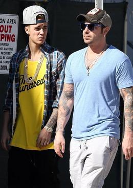 Justin Bieber s otcem