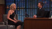 Jennifer Lawrence přiznala, že chtěla sbalit Setha Meyerse