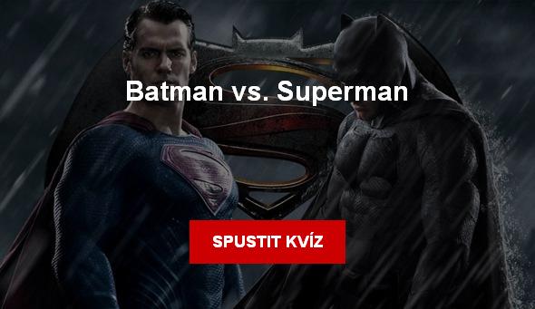 Batman vs. Superman - kviz