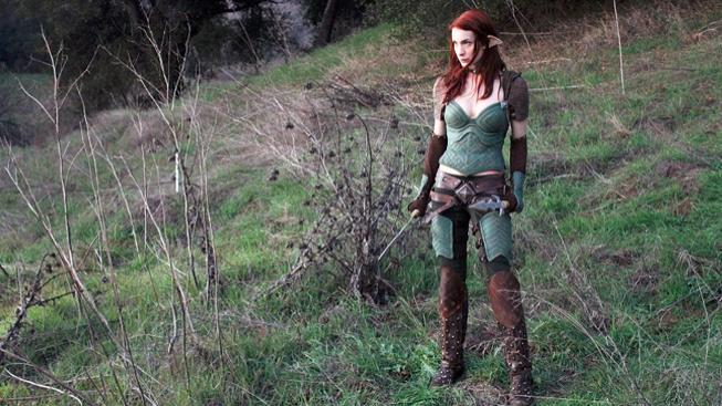 Felicia Day v seriálu Dragon Age: Redemption